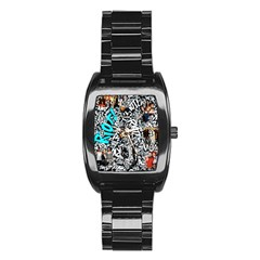 Panic! At The Disco College Stainless Steel Barrel Watch by Samandel