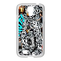 Panic! At The Disco College Samsung Galaxy S4 I9500/ I9505 Case (white) by Samandel