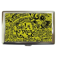 Panic! At The Disco Lyric Quotes Cigarette Money Cases by Samandel