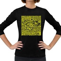 Panic! At The Disco Lyric Quotes Women s Long Sleeve Dark T Shirts