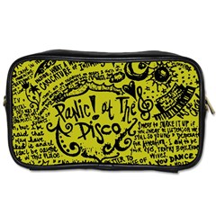 Panic! At The Disco Lyric Quotes Toiletries Bags by Samandel