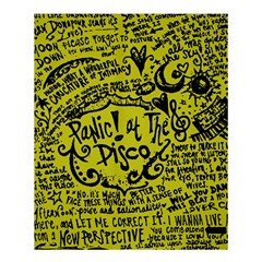 Panic! At The Disco Lyric Quotes Shower Curtain 60  X 72  (medium)  by Samandel