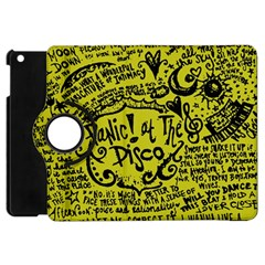 Panic! At The Disco Lyric Quotes Apple Ipad Mini Flip 360 Case by Samandel