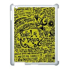 Panic! At The Disco Lyric Quotes Apple Ipad 3/4 Case (white) by Samandel