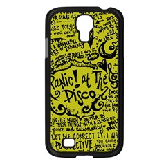 Panic! At The Disco Lyric Quotes Samsung Galaxy S4 I9500/ I9505 Case (black) by Samandel