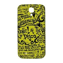 Panic! At The Disco Lyric Quotes Samsung Galaxy S4 I9500/i9505  Hardshell Back Case by Samandel
