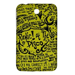 Panic! At The Disco Lyric Quotes Samsung Galaxy Tab 3 (7 ) P3200 Hardshell Case