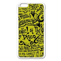 Panic! At The Disco Lyric Quotes Apple Iphone 6 Plus/6s Plus Enamel White Case by Samandel