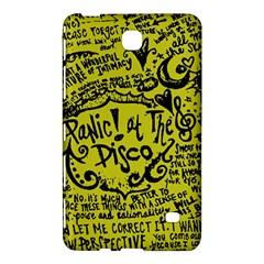 Panic! At The Disco Lyric Quotes Samsung Galaxy Tab 4 (7 ) Hardshell Case  by Samandel