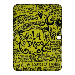Panic! At The Disco Lyric Quotes Samsung Galaxy Tab 4 (10 1 ) Hardshell Case  by Samandel