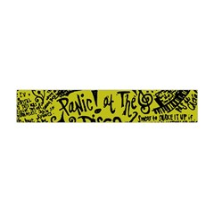 Panic! At The Disco Lyric Quotes Flano Scarf (mini) by Samandel