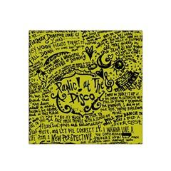 Panic! At The Disco Lyric Quotes Satin Bandana Scarf by Samandel