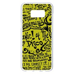 Panic! At The Disco Lyric Quotes Samsung Galaxy S8 Plus White Seamless Case