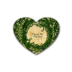 Panic At The Disco Rubber Coaster (heart)
