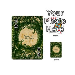 Panic At The Disco Playing Cards 54 (mini)  by Samandel