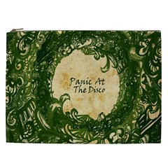 Panic At The Disco Cosmetic Bag (xxl)  by Samandel