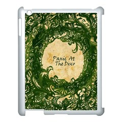 Panic At The Disco Apple Ipad 3/4 Case (white) by Samandel