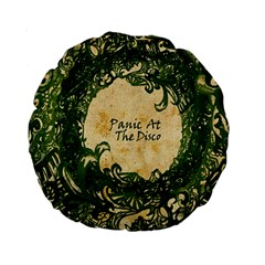 Panic At The Disco Standard 15  Premium Round Cushions by Samandel