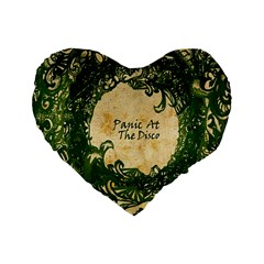 Panic At The Disco Standard 16  Premium Heart Shape Cushions by Samandel