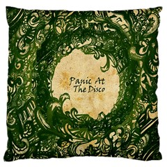 Panic At The Disco Large Flano Cushion Case (one Side) by Samandel