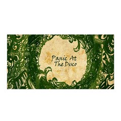 Panic At The Disco Satin Wrap by Samandel