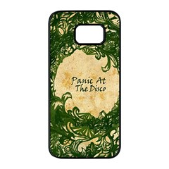 Panic At The Disco Samsung Galaxy S7 Edge Black Seamless Case