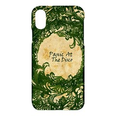 Panic At The Disco Apple Iphone X Hardshell Case by Samandel