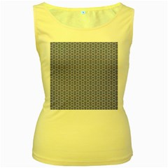 Delicate Tiles Women s Yellow Tank Top by jumpercat