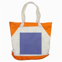 Delicate Tiles Accent Tote Bag by jumpercat