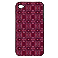 Ethnic Delicate Tiles Apple Iphone 4/4s Hardshell Case (pc+silicone) by jumpercat
