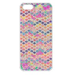 Zigzag Flower Of Life Pattern2 Apple Iphone 5 Seamless Case (white) by Cveti