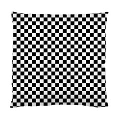 Checker Black And White Standard Cushion Case (two Sides) by jumpercat