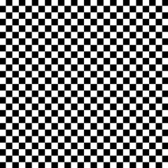 Checker Black And White Magic Photo Cubes by jumpercat