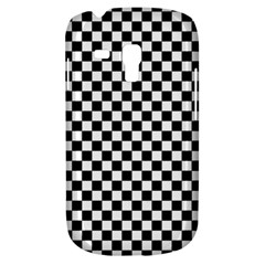 Checker Black And White Galaxy S3 Mini by jumpercat