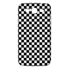 Checker Black And White Samsung Galaxy Mega 5 8 I9152 Hardshell Case  by jumpercat