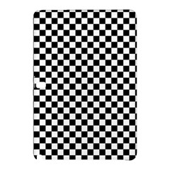 Checker Black And White Samsung Galaxy Tab Pro 12 2 Hardshell Case by jumpercat