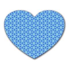 Fresh Tiles Heart Mousepads by jumpercat