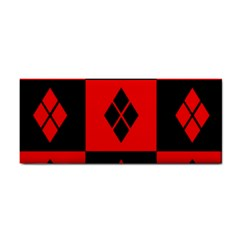 Red And Black Pattern Cosmetic Storage Cases