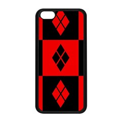 Harley Quinn Pattern Apple Iphone 5c Seamless Case (black)