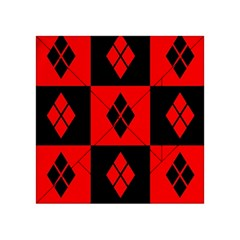 Harley Quinn Pattern Acrylic Tangram Puzzle (4  X 4 )