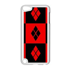 Harley Quinn Pattern Apple Ipod Touch 5 Case (white)