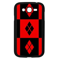 Harley Quinn Pattern Samsung Galaxy Grand Duos I9082 Case (black)