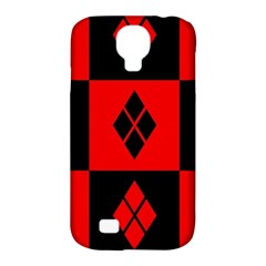 Harley Quinn Pattern Samsung Galaxy S4 Classic Hardshell Case (pc+silicone)