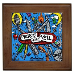 Album Cover Pierce The Veil Misadventures Framed Tiles