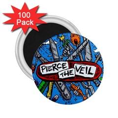 Album Cover Pierce The Veil Misadventures 2 25  Magnets (100 Pack)