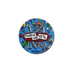 Album Cover Pierce The Veil Misadventures Golf Ball Marker (10 Pack)