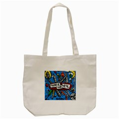Album Cover Pierce The Veil Misadventures Tote Bag (cream) by Samandel