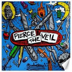 Album Cover Pierce The Veil Misadventures Canvas 12  X 12