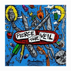 Album Cover Pierce The Veil Misadventures Medium Glasses Cloth (2 Side)
