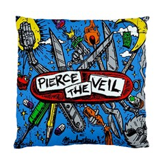 Album Cover Pierce The Veil Misadventures Standard Cushion Case (two Sides)